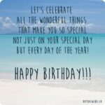 Special Quotes On Birthday Pinterest