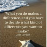 Starfish Quote Making A Difference
