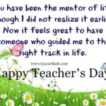Teachers Day Message From Pupils