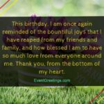 Thank You For My Family Quotes Facebook