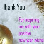 Thank You Message For New Year Wishes Facebook