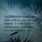 Thank You Message To Parents For Graduation Facebook
