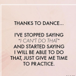 Thank You Quotes For Dance Teachers