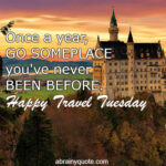 Travel Tuesday Quotes Facebook