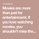 Watching Movie Quotes Pinterest