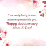 Wedding Anniversary Greetings For Parents Pinterest